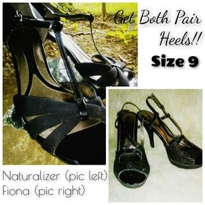 Two (2) Pair Heels (Size 9)